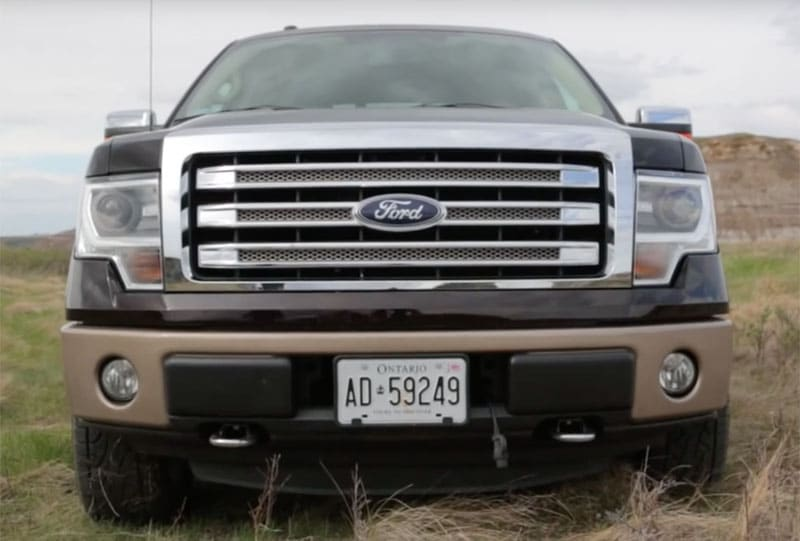How Much Does a 2013 Ford F150 Weigh