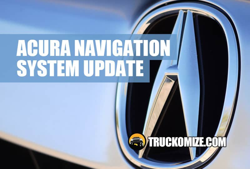 Acura navigation system update