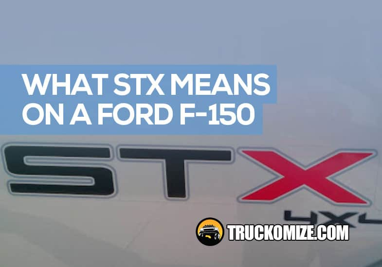 what does stx mean on a ford f150